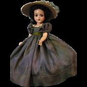 18 Inch 1937 Composition Madame Alexander Scarlett OHara Doll Original Clothes