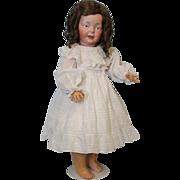 Antique 23.5 inch German Bisque Fritz Bierschenk Toddler Doll F 3 B c1910 Adorable