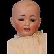 c.1915 18 inch JDK Kestner 151 German Bisque Antique Baby Doll Solid Dome Head