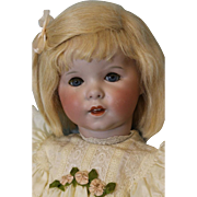 19 inch French Bisque c.1912 SFBJ 247, TWIRP, Doll Correct Slant Hip toddler Body