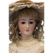 "SALE 34"" Simon & Halbig  Adult body #1199 Rare ""La Patricienne  c1905 Early Doll"