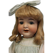 """SALE 23""""Early c1910 K * R #126 CHARACTER TODDLER Naughty Eyes & Smiling Open Mouth"""