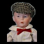 "SALE 11.5"" Early Gebruder Heubach Whistler Character ""8774"" German Doll"