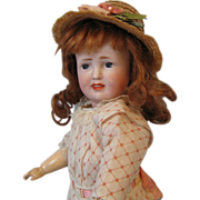 """SALE 12"""" Early Simon &  Halbig  #151 Painted-Eye CHARACTER Fully Jointed Body"""