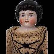 "SALE 22"" Antique Alt Beck Gottschalck 1000/9 Highland Mary China doll Original body"