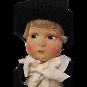 "SALE 15"" 1930's Cloth Madame Alexander David Copperfield Tagged Original Clothes NICE"