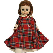 """SALE 8"""" 1955 Wendy-kins """"Wendy at Bed Time"""" SLW Straight Leg Walker 3 seam wig"""