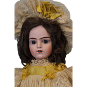 "SALE 22"" Antique French Bisque Bru Jne R Doll original labeled box, Antique Clothes!"
