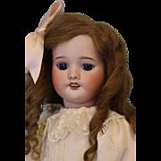 "SALE 22"" Antique French bisque Doll marked ""PR SFBJ 60"" Paris Original Body, HH"