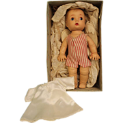 "SALE RARE 1952 9"" Madame Alexander Angel/Chrub Doll w.Wings,Halo, Tags,Robe,Orig. Box"