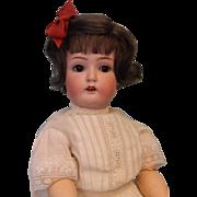 "SALE 1910 14"" Antique German Bisque Catterfelder Puppenfabrik Mold 264 Character Doll"