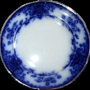 "English Flow Blue 10 3/8"" Grimwades ""Nancy"" Plate"