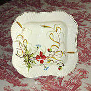SALE Hand-Painted German Ironstone Pottery Bowl