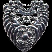 SALE Cini Italianate Sterling Zodiac Gemini Brooch