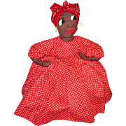 Kitschy Black Mammy Toaster Cover Doll