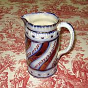 SALE English Staffordshire Pottery Lustre-Ware Jug