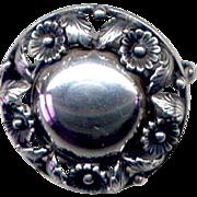Sterling Denmark N. E. From Brooch