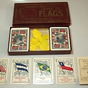 "Parker Brothers ""Improved Game of Flags"" c.1915"