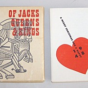 "Huxley House ""Of Jacks, Queens & Kings,"" Gatefold Samplers 18th Century Playing Cards, ..."