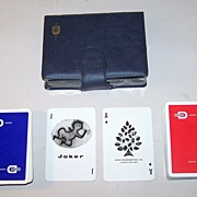 "Double Deck Waddington's ""Dohm Group"" Adv. Playing Cards, Siriol Clarry ""Four Elements"