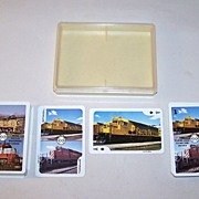 "Double Deck Railroad Playing Cards and Card Game, ""Mainliner"" (Braceridge, Ontario, Canada"