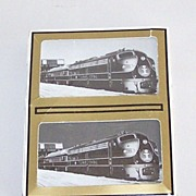 "Double Deck Gemaco ""Illinois Central Railroad – Engine 100"" Playing Cards"