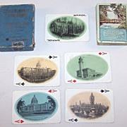 "Chicago, Milwaukee & St. Paul Railway ""Minehaha Falls"" Railroad Souvenir Playing Cards, .."
