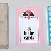 "USPC ""Coricidin"" Playing Cards, Schering Corporation Adv., c.1969"