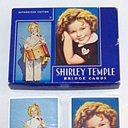 "USPC ""Shirley Temple"" Playing Cards, c.1935"