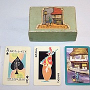 "SOLD E.E. Fairchild ""Past-L-Eze"" Playing Cards, Dickens ""The Old Curiosity Shop,"" Fan"