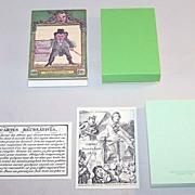 "Arienti / Solleone Facsimile ""Cartes Récréatives 1819"" Transformation Cards, Limited Edi"