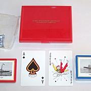 "Double Deck Brown & Bigelow ""Tug 'John Roen IV'"" Maritime Playing Cards, Roen Steamshi"