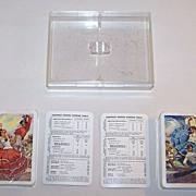 "Double Deck Fournier ""Flamenco Dancers"" Playing Cards, ""Spanish Souvenir"" Series, c.19"