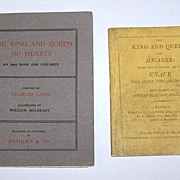 """Charles Lamb """"The King and Queen of Hearts,"""" Methuen & Co. Edition w/ Separately Bound ..."""