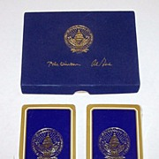 "Double Deck Gemaco ""Clinton/Gore Inauguration"" Playing Cards, Second Clinton Term, c.1997"