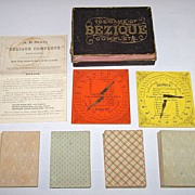 "A.B. Swift ""The Game of Bézique Complete"" w/ 4 Decks ""A. Dougherty's Best Double Head"