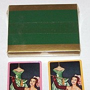 "Double Deck Arrco Pin-Up/Glamour Playing Cards, Maidenform ""I Dreamed"" Advertising Campaig"