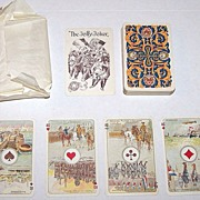 "Ets. Brepols S.A. ""Premiere Guerre Mondiale II"" Playing Cards, c.1919"