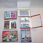 "6 Sets of Souvenir Playing Cards: Piatnik ""Virgin Islands/ Puerto Rico"" (2), Italcar"