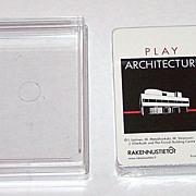 "Piatnik ""Play Architecture"" Playing Cards, Finnish Building Center (Rakennustieto) Publish"