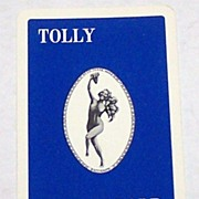 "Universal Playing Card Co. (""Alf Cooke"") ""Tolly Cobbold"" Pin-Up Playing Cards, Adv. .."