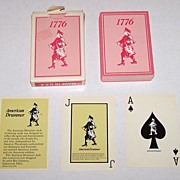 "American Drummer Playing Card Co. ""American Drummer"" Playing Cards, Roy Lipstreu Designs,"
