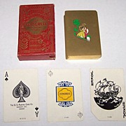 "SOLD USPC Canada ""Congress 606"" Playing Cards, Canadian Congress Jokers, c.1930"