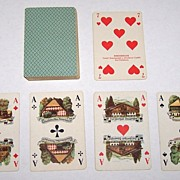 "Rheinberger ""German Costumes"" Skat Playing Cards, c.1939"