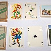 "2 Decks Handa ""Danish Souvenir Series"" Playing Cards, $25/ea.: (i) ""Thorvaldsen Museumâ€"