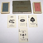 "Double Deck USPC ""French, Shriner & Urner"" Playing Cards,  ""Twin Grip"" Golf Shoes, """