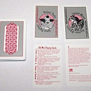 "Metropolitan Opera Guild ""Old Met Playing Cards,"" Maker Unknown, Kathryn Perry Designs, c."