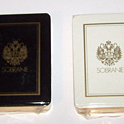 "Twin Decks ""Erte"" Playing Cards (Cards Only) -- $75 each, $150 for pair; Sobranie of"