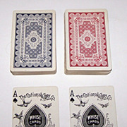 "SOLD Double Deck National ""Columbia 133"" Playing Cards (52/52 NJ), c.1900"