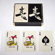 "Double Deck Osborne Kemper Thomas (USPC?) ""Donte's"" Playing Cards, ""Crown OKT"" Brand"